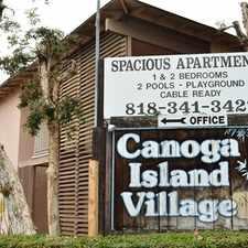 Rental info for Canoga Island Apartments
