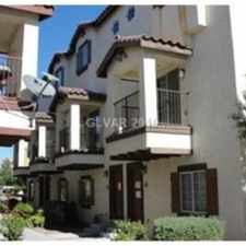 Rental info for Great gated community! Community pool! Two car garage! Four bathrooms! Call Chris Renna at 702-250-7594