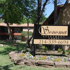 Rental info for Sonoma Apartments