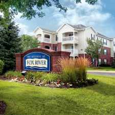 Rental info for Welcome To The Reserve At Fox River Apartment Homes!