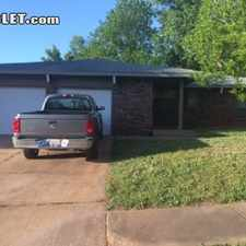 Rental info for $1500 3 bedroom House in Canadian County Oklahoma City in the Del City area