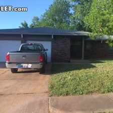 Rental info for Three Bedroom In Canadian County in the Oklahoma City area