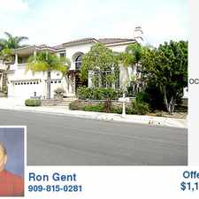 Rental info for Beautiful Yorba Linda Beauty,3400sf,4b-2.5b, Call Ron Gent for appt to see, 909-815-0281, Submit All Offers