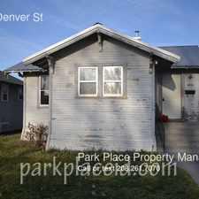 Rental info for 1011 E Denver St
