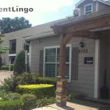 Rental info for 9502 Woodfair Dr in the Houston area