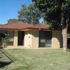Rental info for Sensational family home with caravan parking space, single carport in the Beechboro area