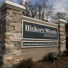 Rental info for Hickory Woods Apartments in the Roanoke area