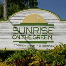 Rental info for Sunrise on the Green in the Sunrise area
