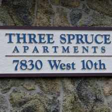 Rental info for Three Spruce in the Lakewood area