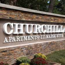 Rental info for The Churchill in the Minneapolis area
