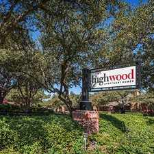 Rental info for Highwood in the Plano area