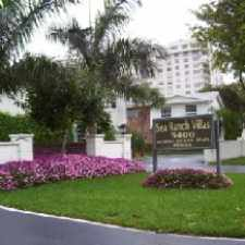 Rental info for Sea Ranch Villa in the Fort Lauderdale area