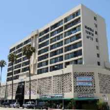 Rental info for Marina Tower in the Los Angeles area