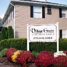 Rental info for Village Green Apartment in the Bowling Green area