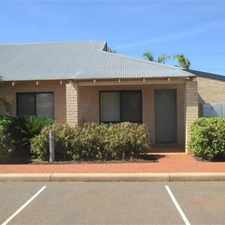 Rental info for PERFECT STARTER FOR THE PILBARA!