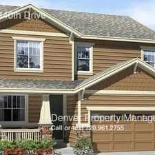 Rental info for 3517 East 140th Drive