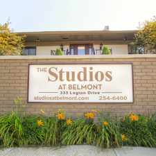 Rental info for The Studios at Belmont