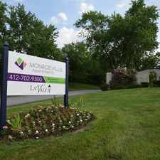 Rental info for Monroeville Apartments at LaVale