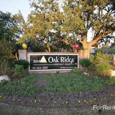 Rental info for Oak Ridge Apartment Homes