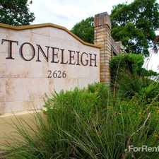 Rental info for Stoneleigh