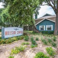Rental info for Hillside Canyon