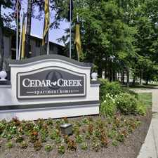 Rental info for Cedar Creek