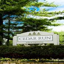 Rental info for Cedar Run Apartments