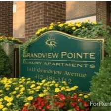 Rental info for Grandview Pointe in the Pittsburgh area