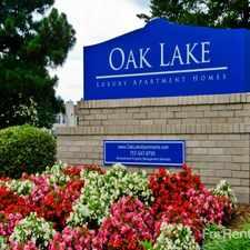 Rental info for Oak Lake Apartments