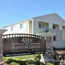 Rental info for Apex at Ashton Green