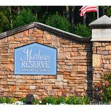 Rental info for Matthews Reserve