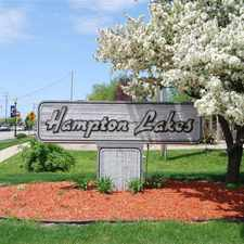 Rental info for Hampton Lakes Apartments