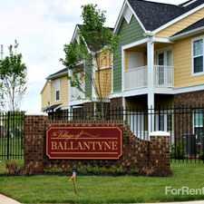 Rental info for Village of Ballantyne