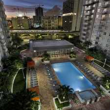 Rental info for Camden Brickell in the Miami area