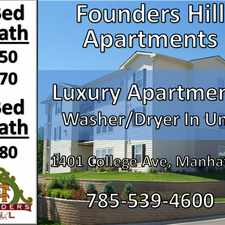 Rental info for Founders' Hill Apartments
