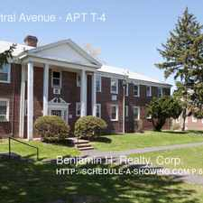 Rental info for 370 Central Avenue in the Newark area