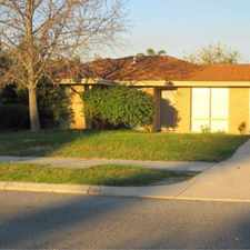 Rental info for THREE BEDROOM IN MIRRABOOKA in the Perth area