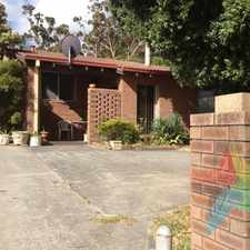 Rental info for PORT ALBANY - Ideally Located Three Bedroom Unit ! in the Albany area