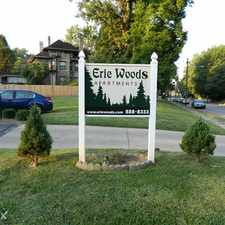Rental info for Erie Woods Apartments in the Madisonville area