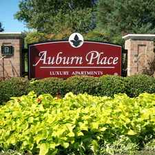 Rental info for Auburn Place Luxury Apartments