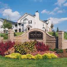 Rental info for Highlands at Alexander Pointe, The in the Charlotte area