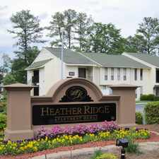 Rental info for Heather Ridge Apartments in the Fayetteville area