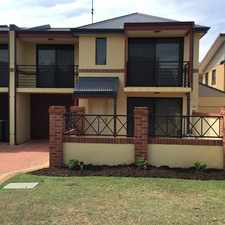 Rental info for TOWNHOUSE CLOSE TO IT ALL in the Perth area