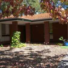 Rental info for Spacious 3 Bedroom Home in the Glen Forrest area