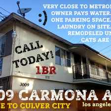Rental info for Linder and Associates in the West Adams area