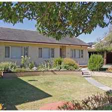 Rental info for 3 BEDROOM HOUSE ON BIG BLOCK - PET FRIENDLY in the Perth area