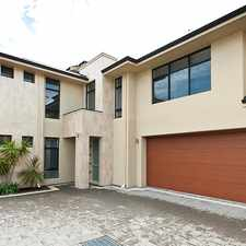 Rental info for SPECTACULAR 2 STOREY TOWNHOUSE WITH 4 BEDROOMS & 3 BATHROOMS plus DUCTED R/C AIR CON.