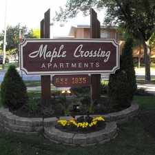 Rental info for MAPLE CROSSING APARTMENTS in the Villa Park area