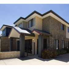 Rental info for MODERN THREE BEDROOM TOWNHOUSE