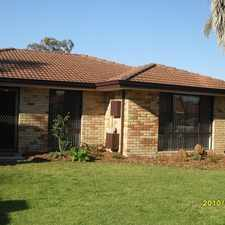 Rental info for PERFECTLY LOCATED - CLOSE TO SCHOOLS - SHOPS - TRANSPORT - LEISURE CENTRE AND LIBRARY in the Ballajura area
